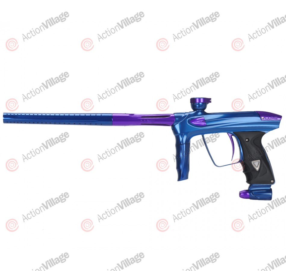 DLX Luxe 2.0 Paintball Gun - Blue/Purple