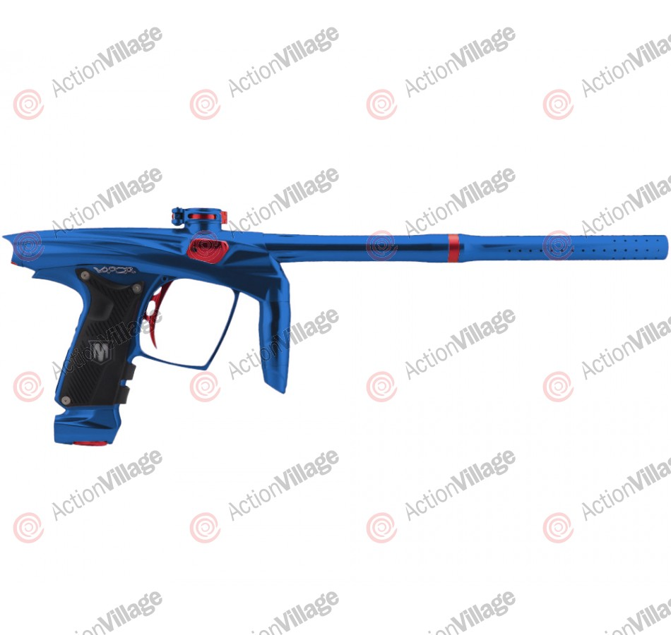 Machine Vapor Paintball Gun - Blue w/ Red Accents