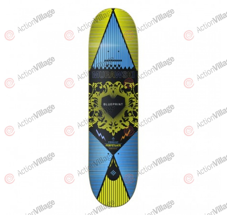 Blueprint Skateboards Inheritance Murawski - Yellow  - Skateboard Deck