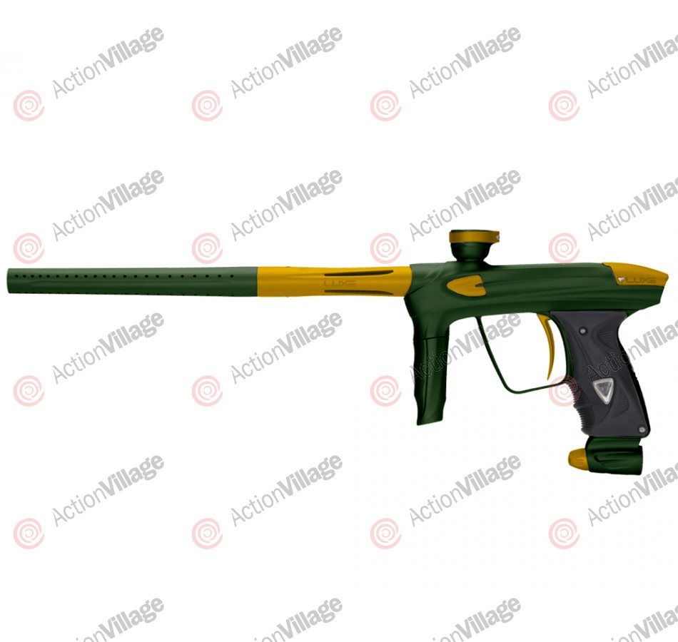 DLX Luxe 2.0 Paintball Gun - British Racing Green/Dust Gold