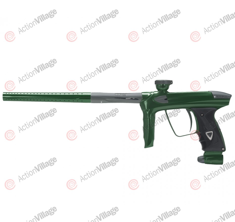 DLX Luxe 2.0 Paintball Gun - British Racing Green/Dust Titanium
