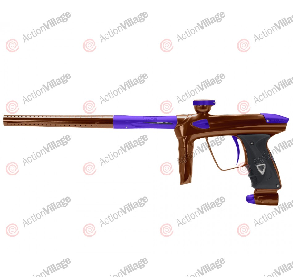 DLX Luxe 2.0 Paintball Gun - Brown/Dust Purple