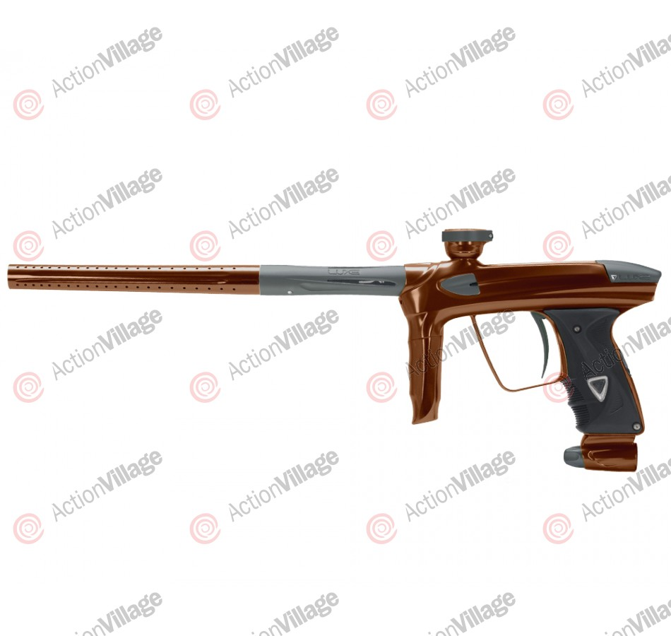 DLX Luxe 2.0 Paintball Gun - Brown/Dust Titanium