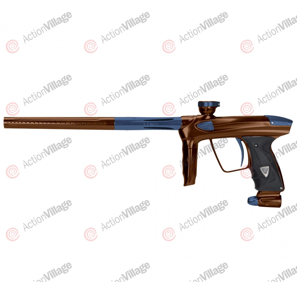 DLX Luxe 2.0 Paintball Gun - Brown/Gun Metal