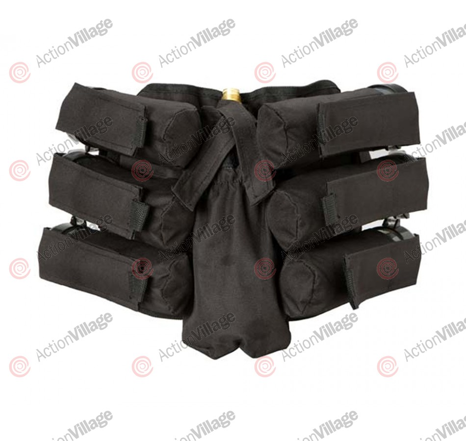Empire Battle Tested Bandolier 6+1 THT Paintball Harness - Black