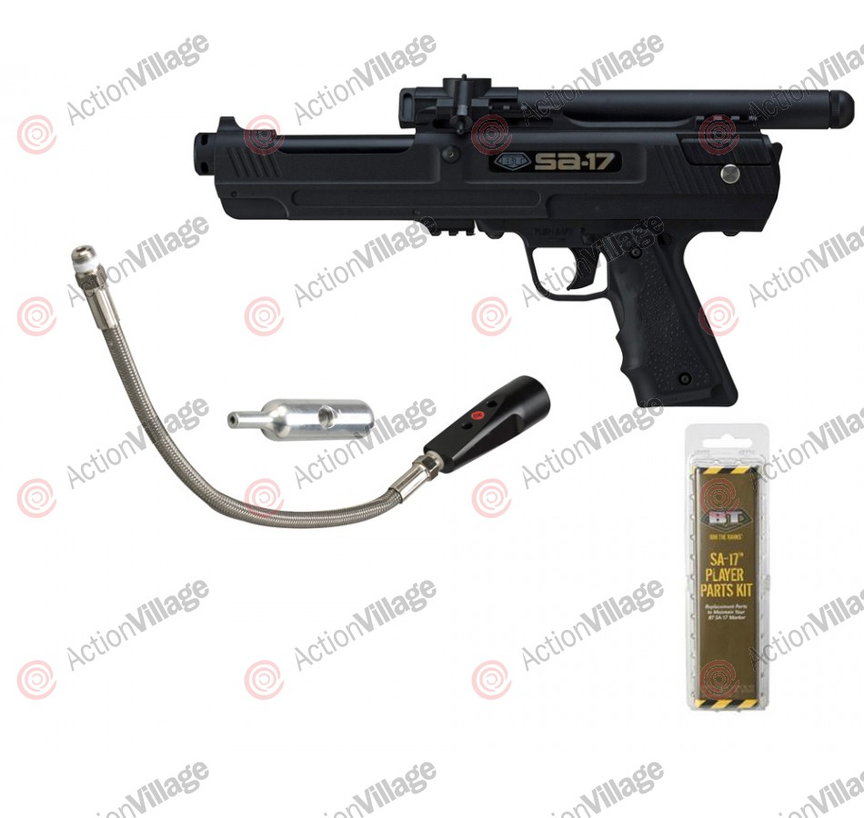 BT SA-17 Paintball Pistol (Bottomline Combo)