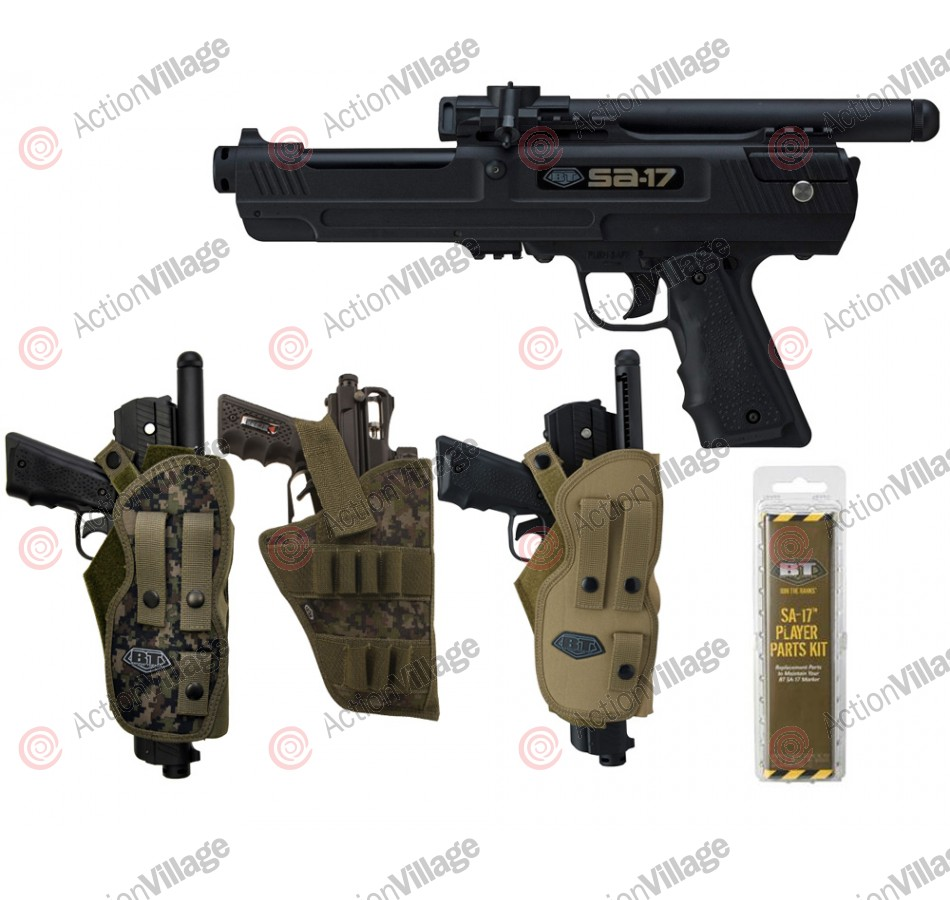 BT SA-17 Paintball Pistol (Holster Combo)