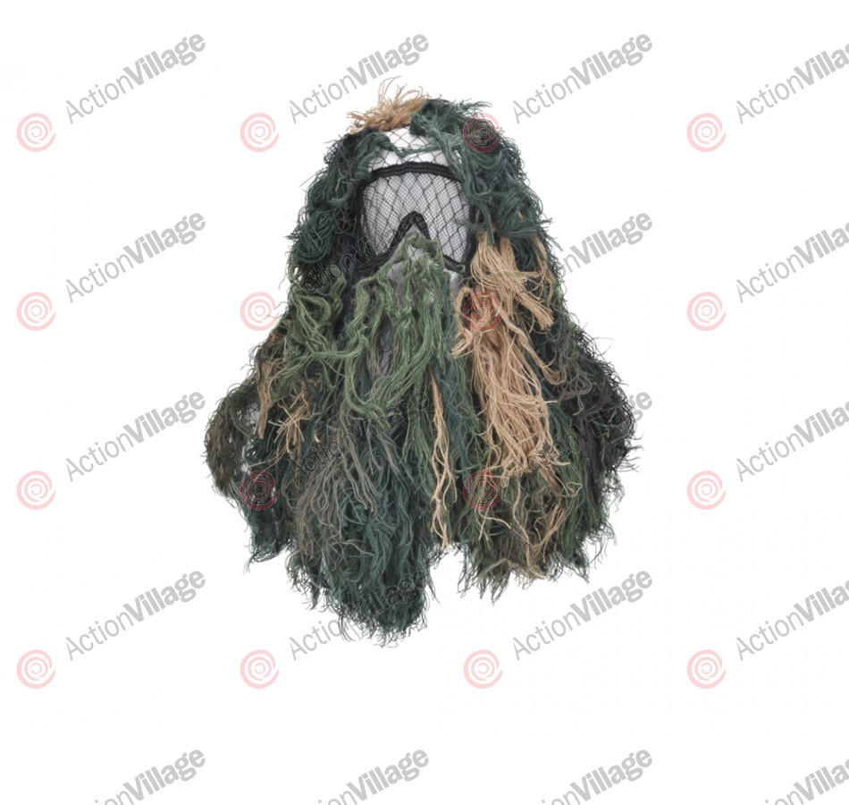 Bushrag Paintball Sniper Suit - Woodland (65113)
