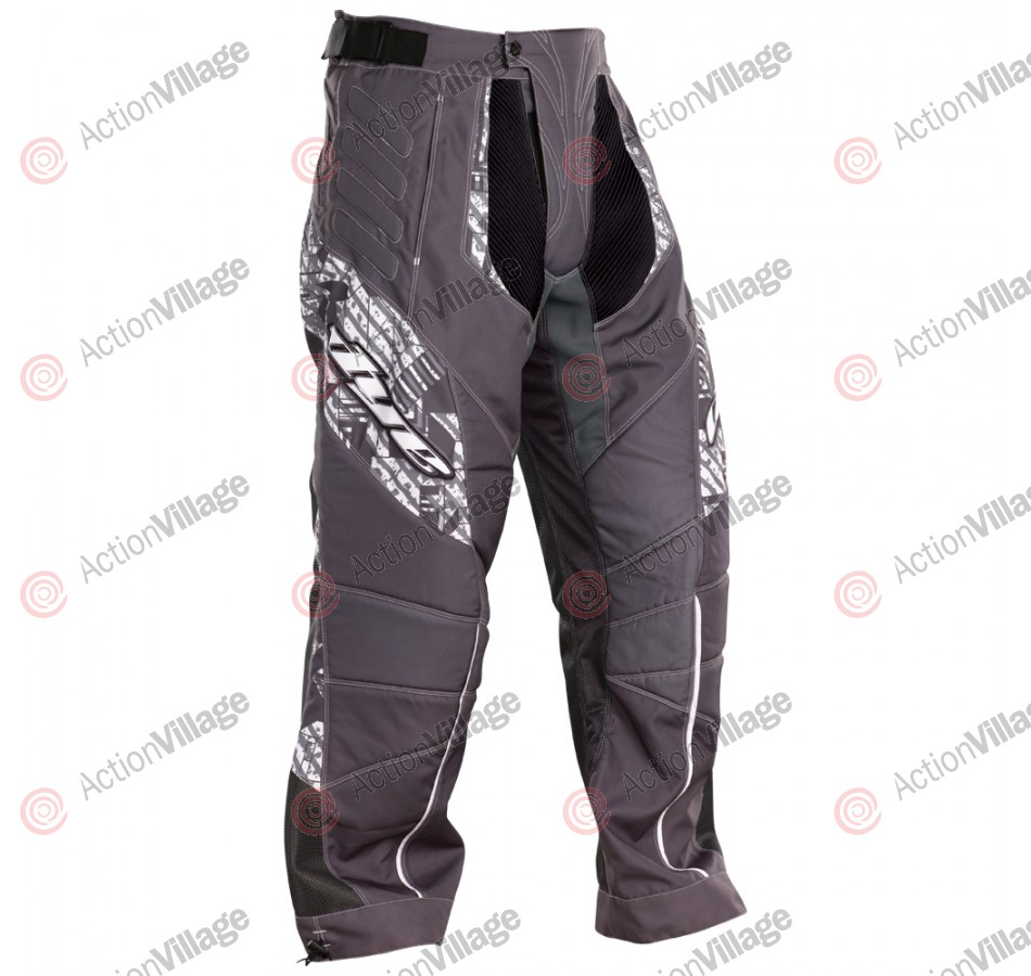 2011 Dye C11 Paintball Pants - Geometric White/Grey