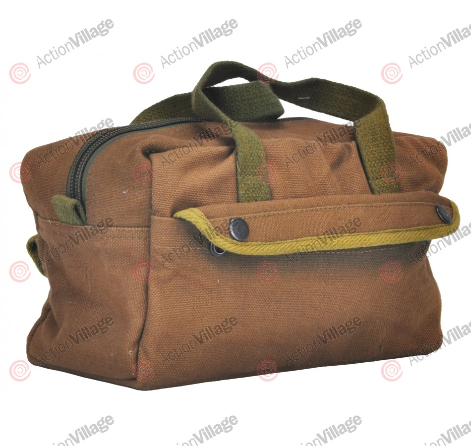 Canvas Tool Bag - Small - Brown