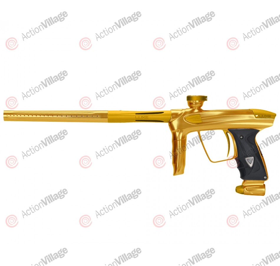 DLX Luxe 2.0 Paintball Gun - Gold/Dust Gold