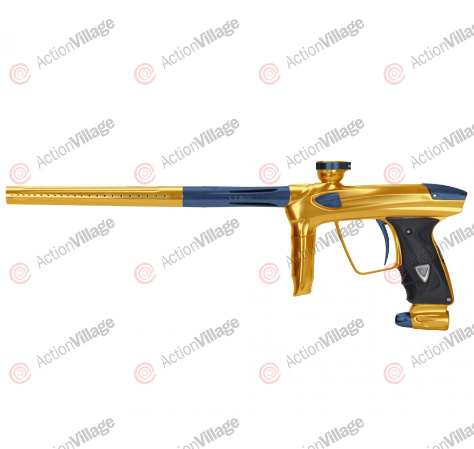DLX Luxe 2.0 Paintball Gun - Gold/Gun Metal