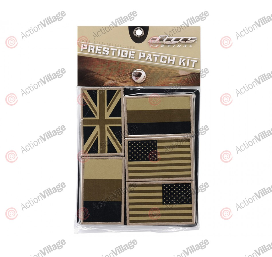 Dye 2011 Tactical Prestige Patch Kit - Coalition