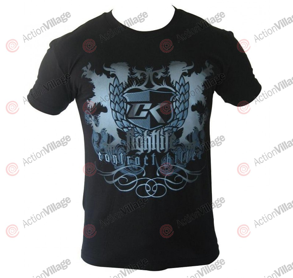 Contract Killer Fists T-Shirt - Black