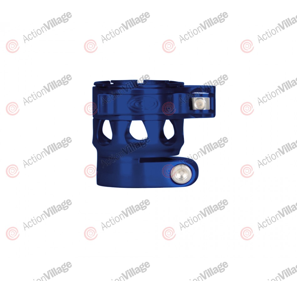 Custom Products CP Etek 3 Clamping Feed Neck - Blue