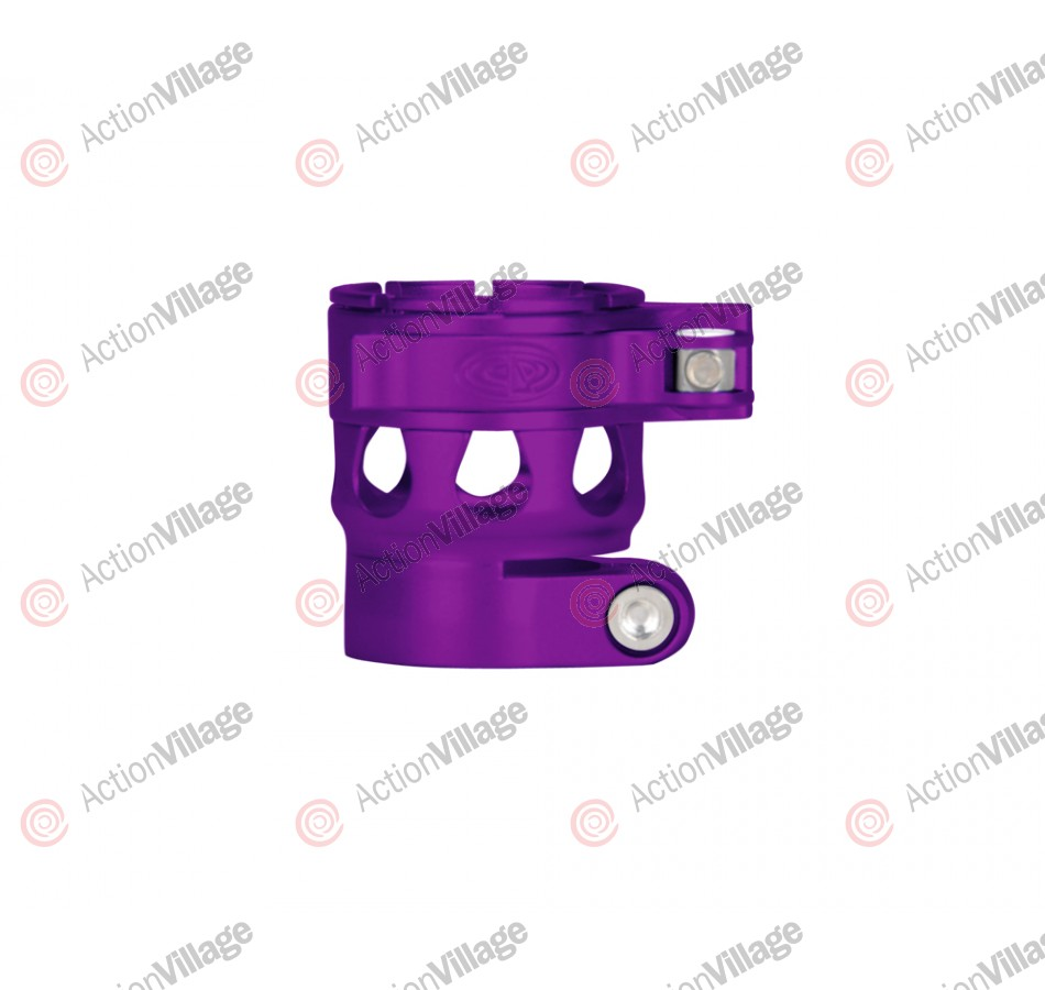 Custom Products CP Ego 05 & 06 Clamping Feed Neck - Dust Purple