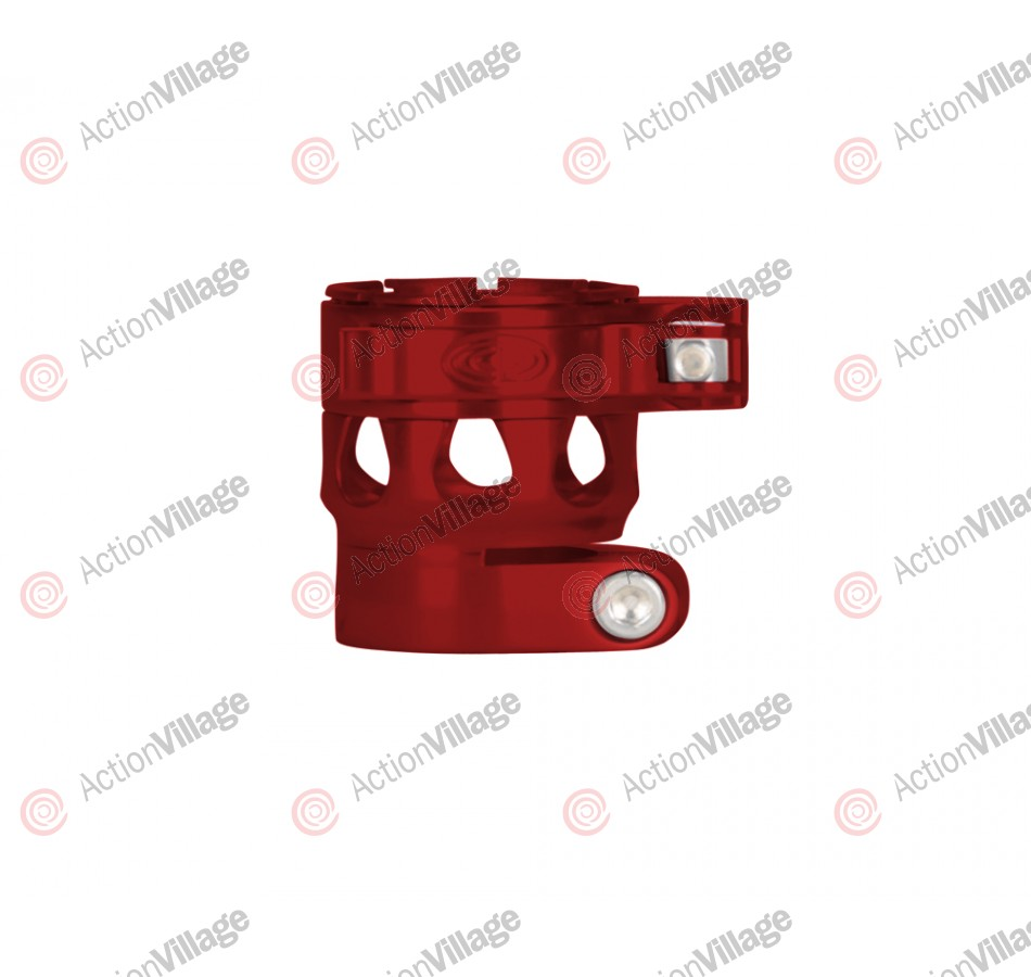 Custom Products CP Ego 07/08/09/10/11 Clamping Feed Neck - Red