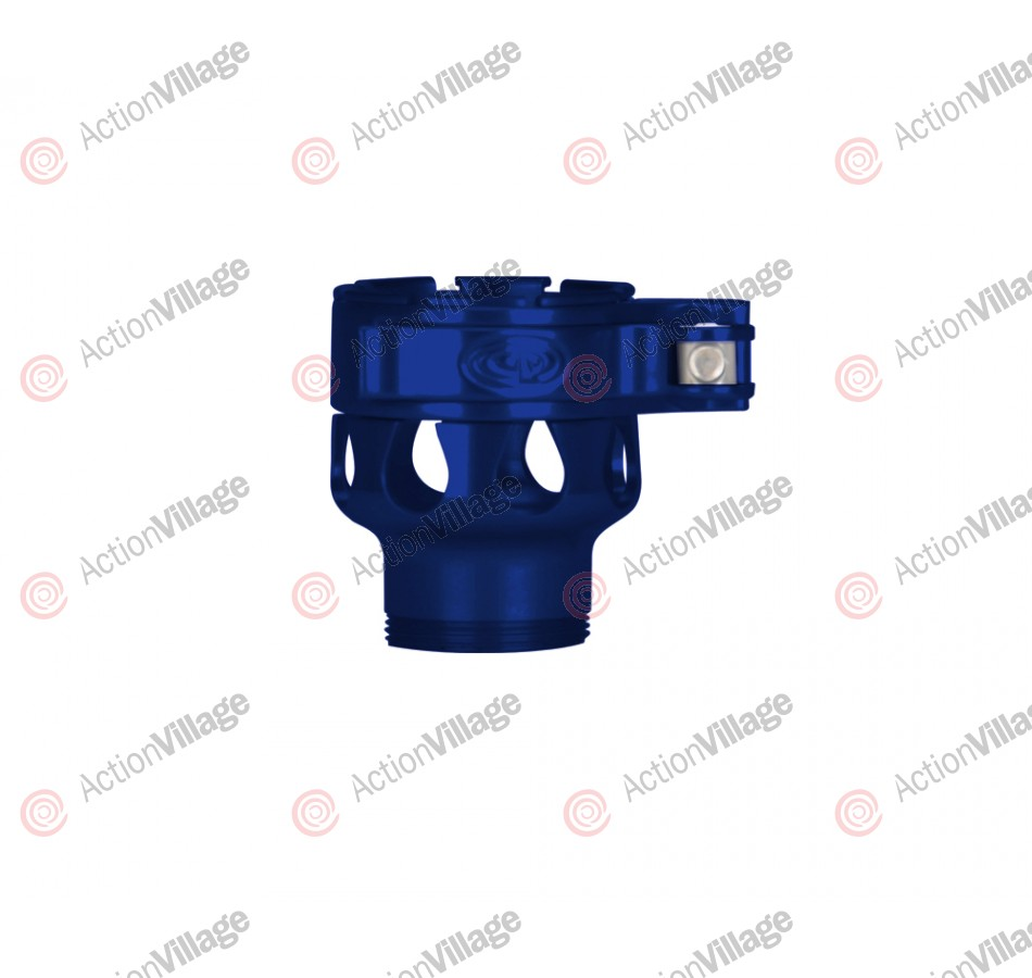 Custom Products CP Invert Mini Clamping Feed Neck - Blue