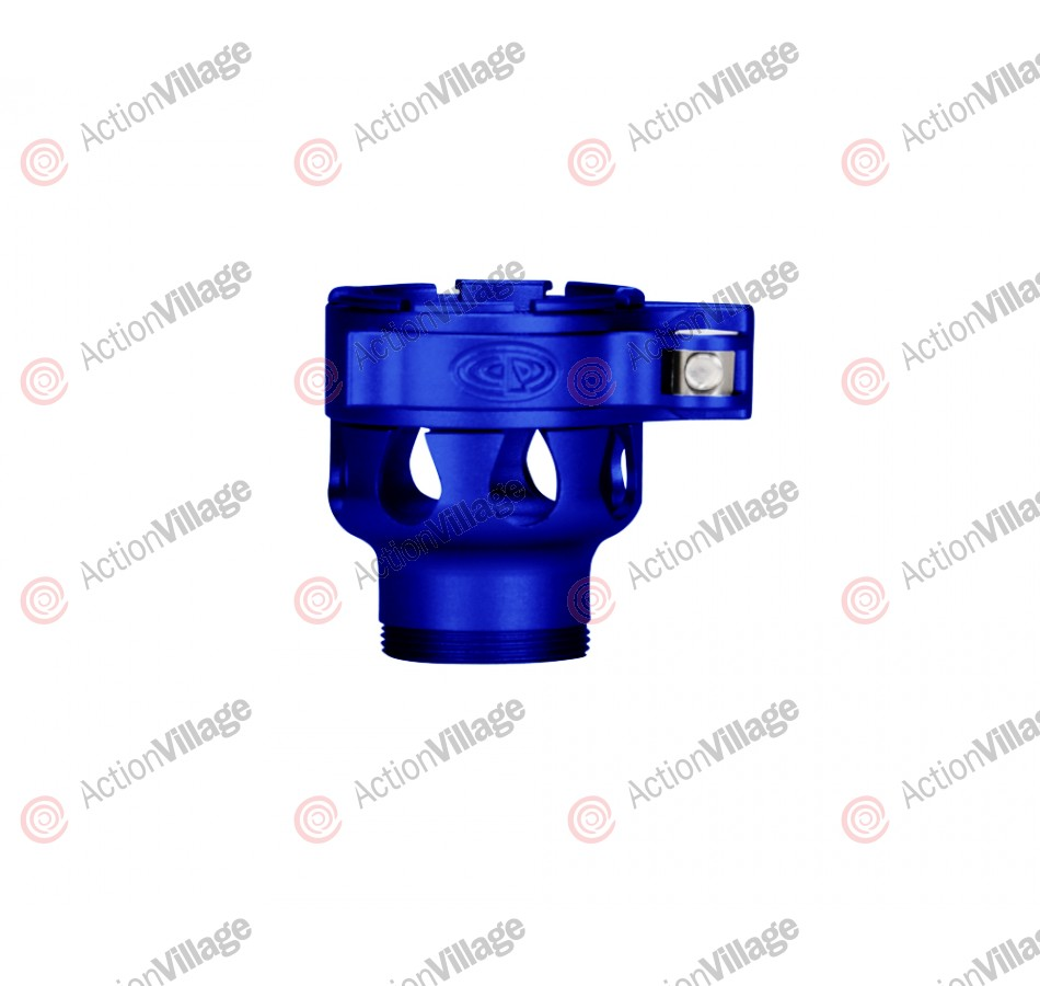 Custom Products CP Invert Mini Clamping Feed Neck - Dust Blue
