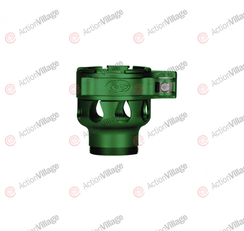 Custom Products CP Angel 1 Clamping Feed Neck - Dust Green