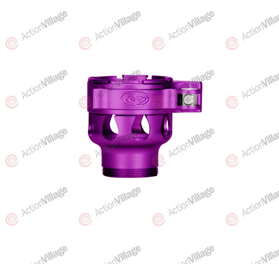 Custom Products CP Invert Mini Clamping Feed Neck - Dust Purple