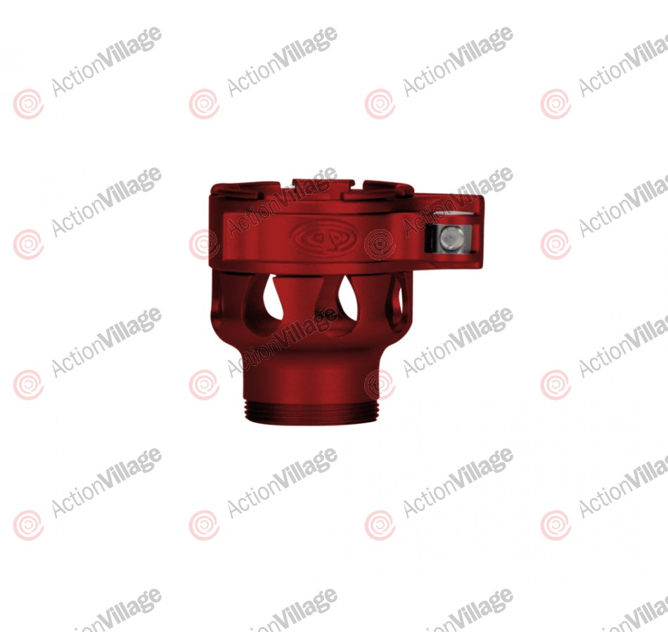 Custom Products CP Ion Clamping Feed Neck - Dust Red