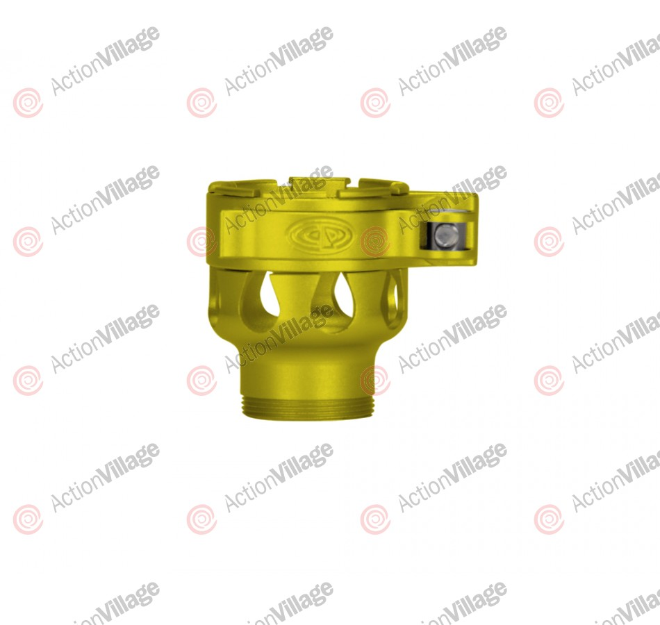 Custom Products CP Invert Mini Clamping Feed Neck - Dust Yellow