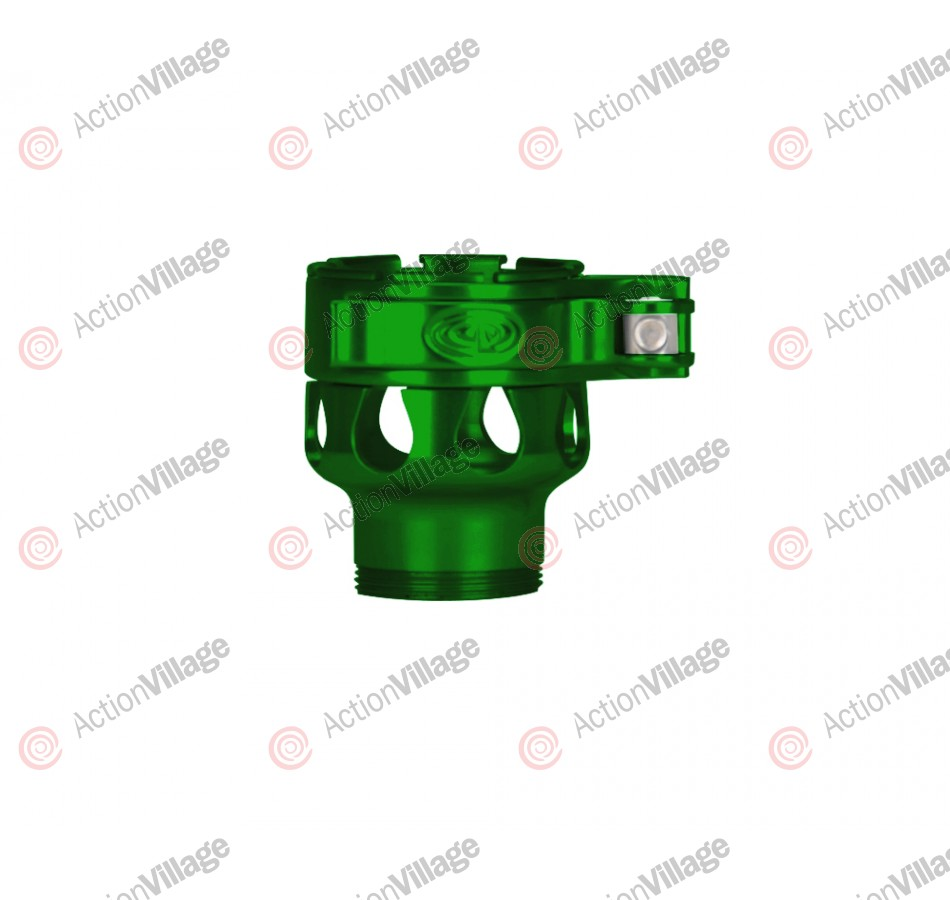 Custom Products CP Shocker NXT Clamping Feed Neck - Green