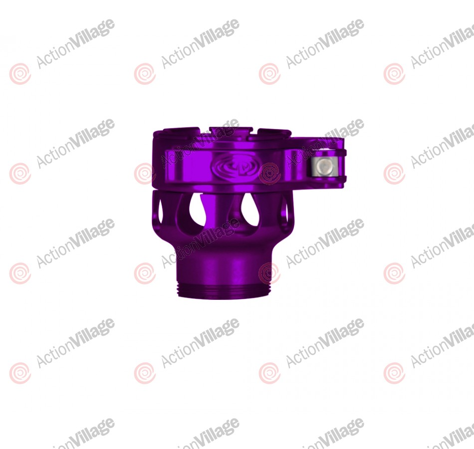 Custom Products CP Spyder VS1, VS2, VS3, RS, & RSX Clamping Feed Neck - Purple