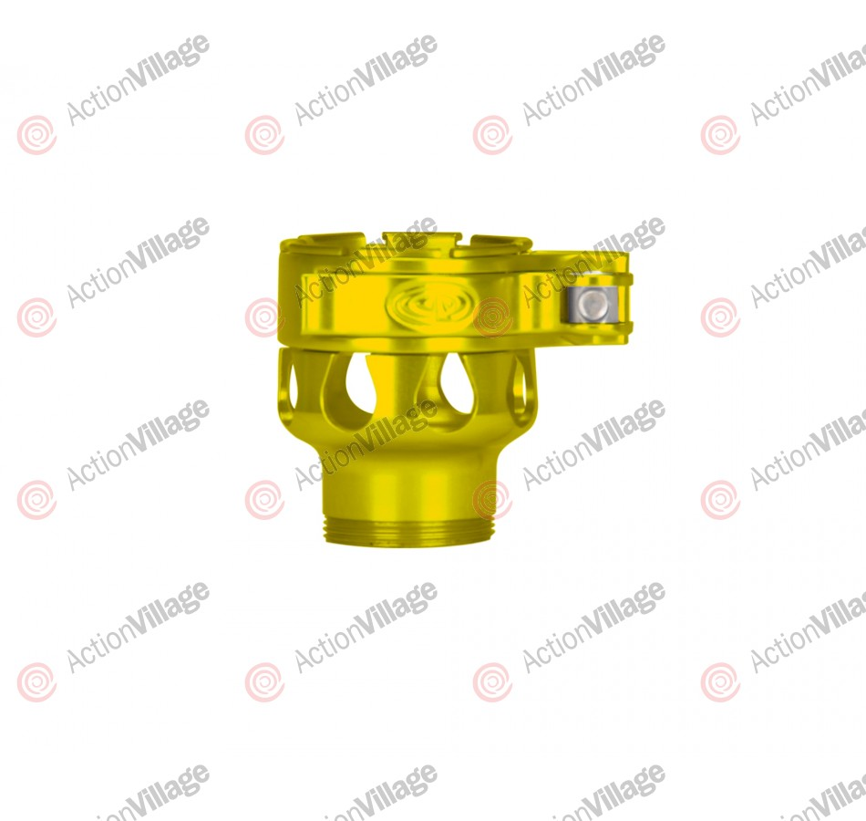 Custom Products CP Ion XE Clamping Feed Neck - Yellow