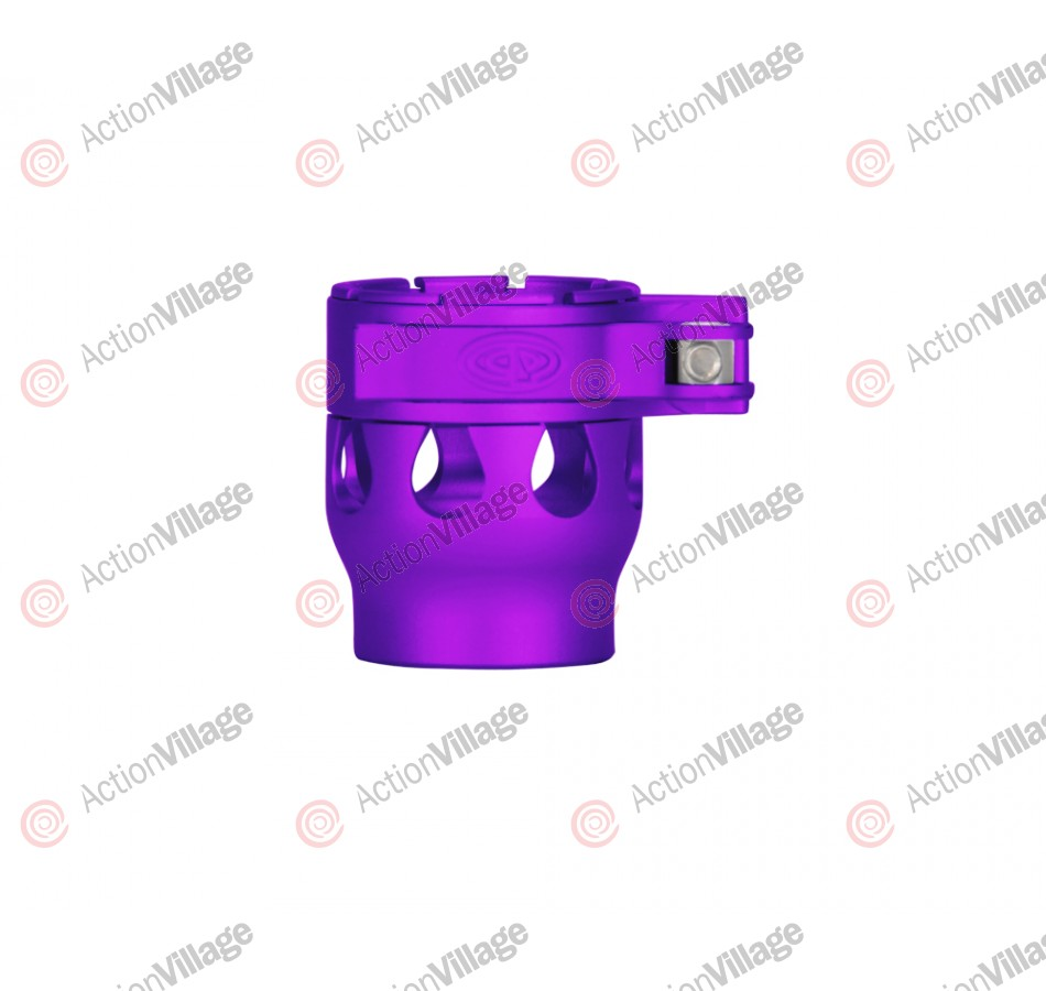 Custom Products CP Alias Intimidator Clamping Feed Neck - Dust Purple