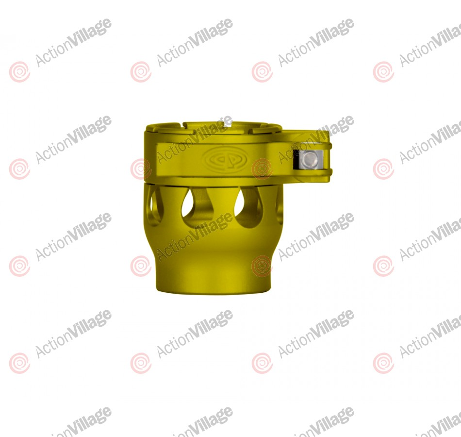 Custom Products CP 2K2 Intimidator Clamping Feed Neck - Dust Yellow