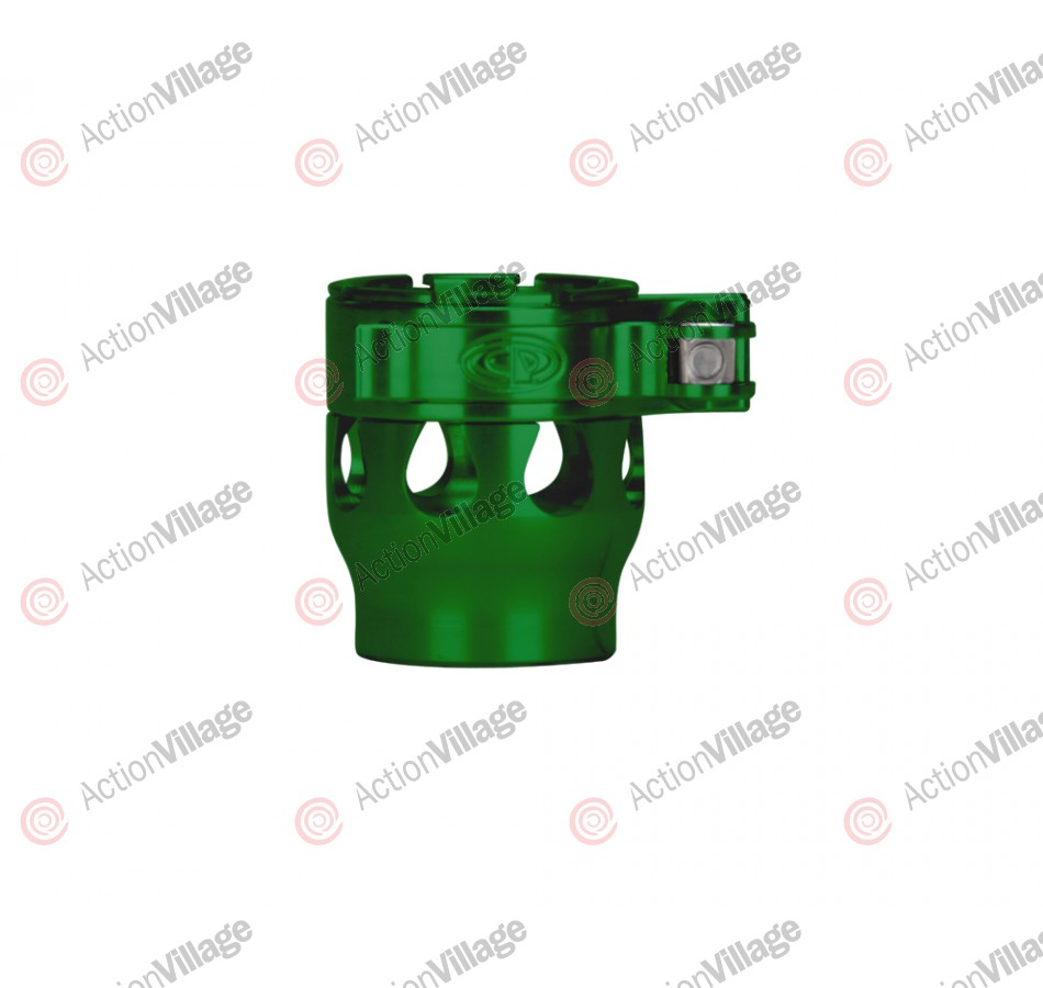 Custom Products CP Alias Intimidator Clamping Feed Neck - Green