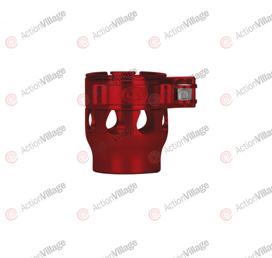 Custom Products CP 2K2 Intimidator Clamping Feed Neck - Red