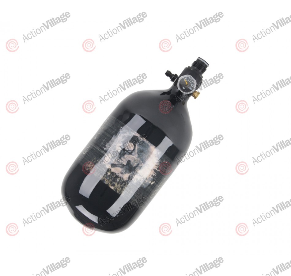 Crossfire SS Carbon Fiber Compressed Air Tank 68/4500 - High Pressure