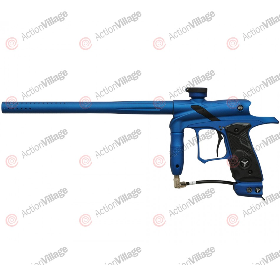 Dangerous Power G4 Paintball Gun - Blue w/ Black