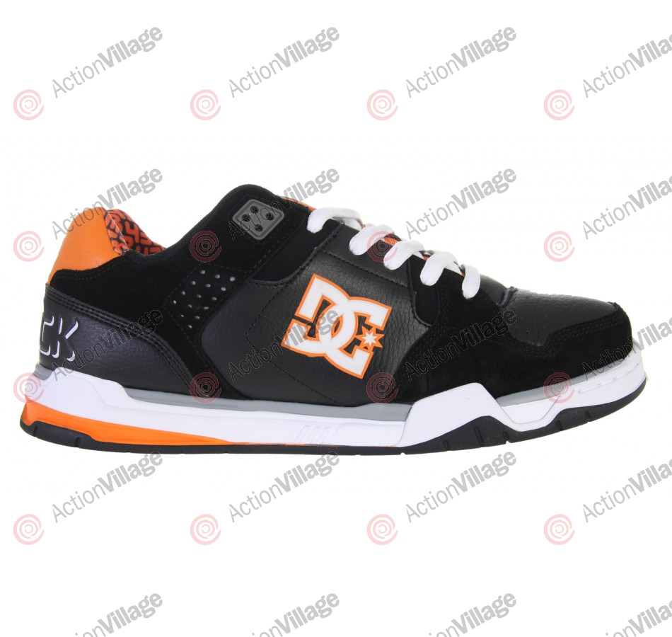 DC Block Decibel - Men's Shoes Black / Citrus -Size 12