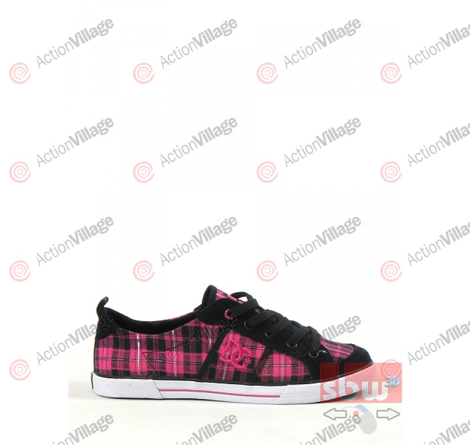 DC Flash - Kids' Shoes Black / Pink - Size 13
