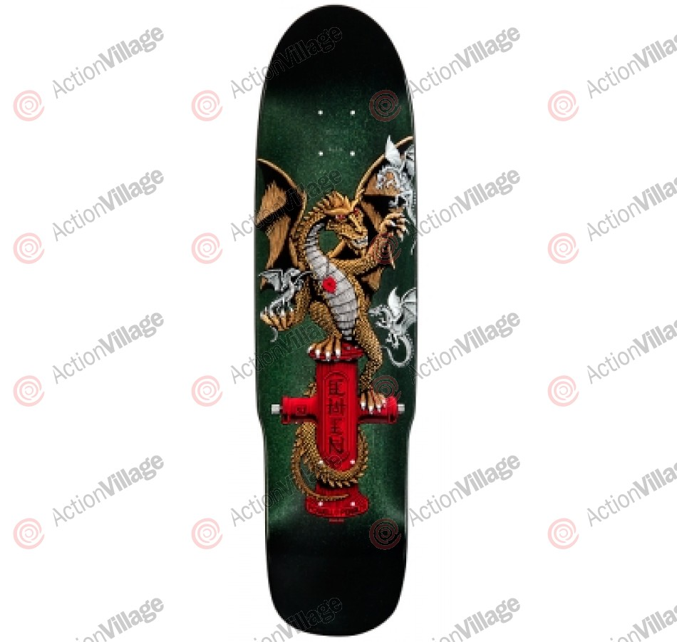 Powell Peralta Hydrant Dragon - Green - 8.375