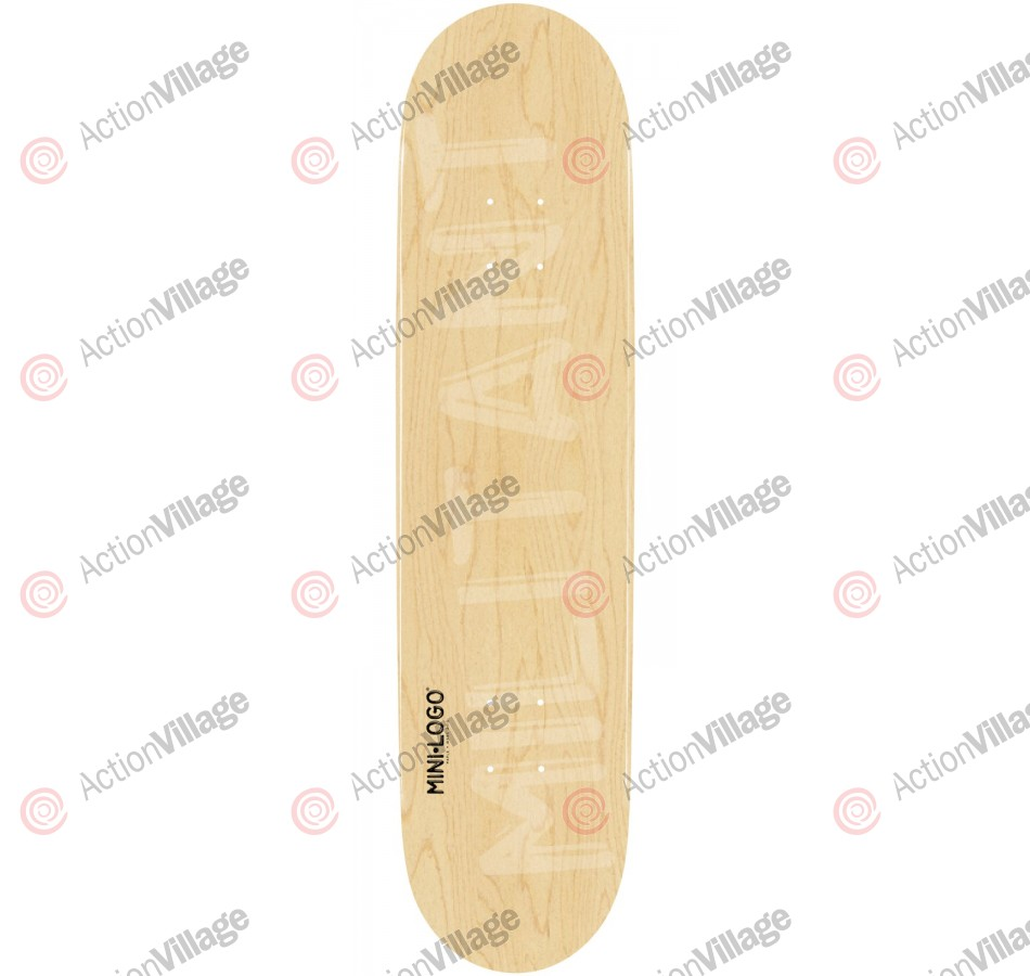 Mini Logo - Natural Militant - 7.625 - Skateboard Deck