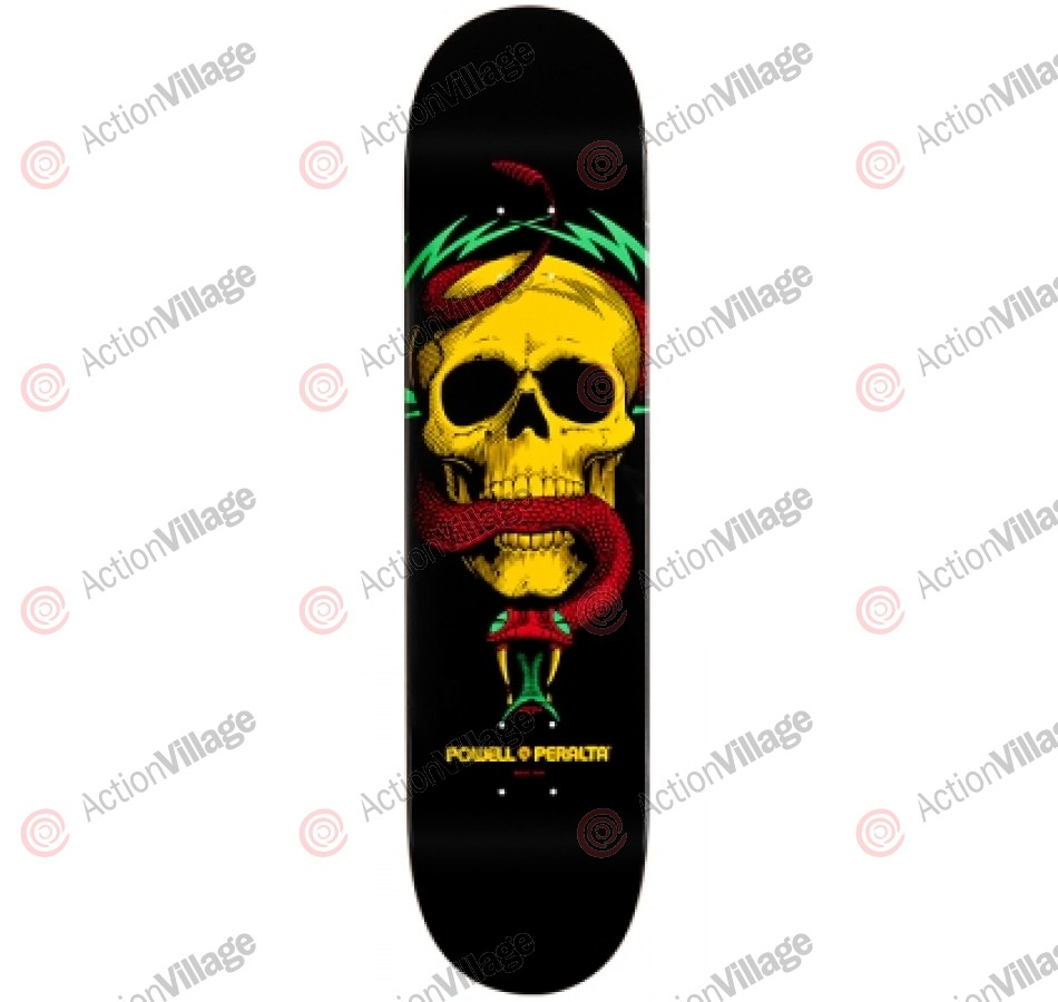 Powell Peralta Blacklight McGill Skull and Snake 6 - Rasta - 7.625