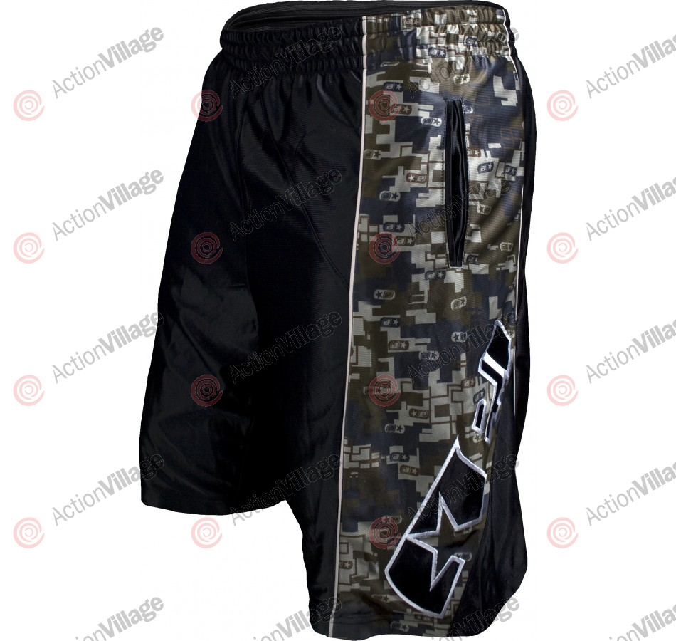 Planet Eclipse Men's 2010 Chrome Shorts - Dig-E-Cam