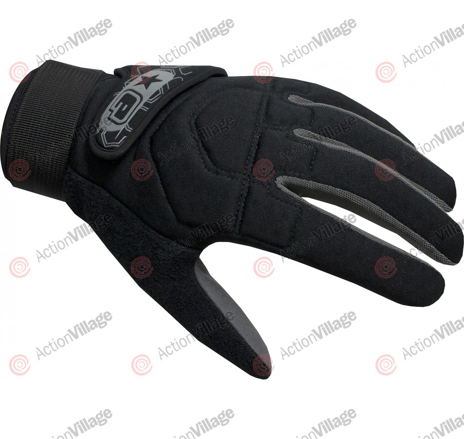 Planet Eclipse 2011 Distortion Paintball Gloves - Black