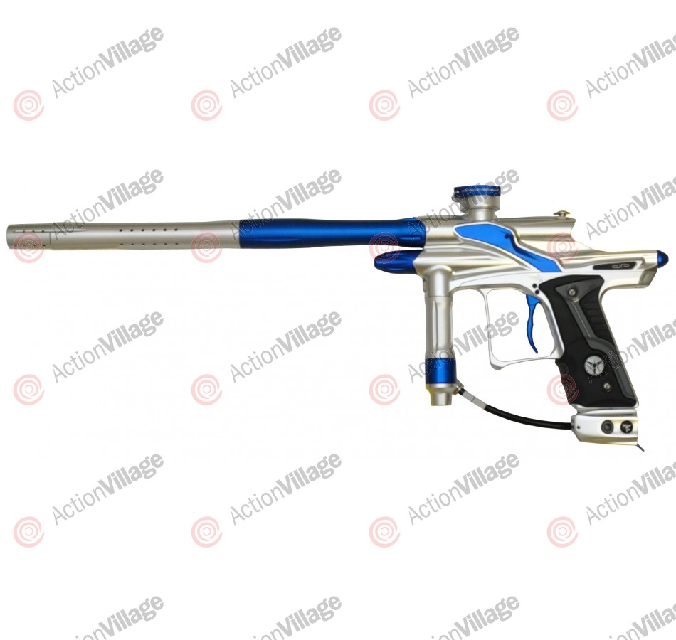 Dangerous Power Fusion FX Paintball Gun - Silver/Blue