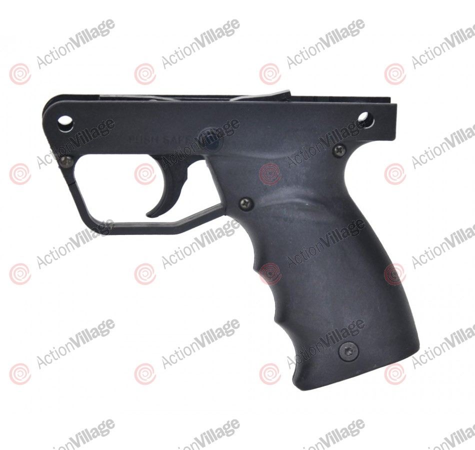 Tippmann A5 Replacement Semi-Auto Grip Frame (Complete) - Black