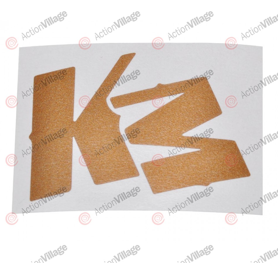 KM Logo Sticker - Gold