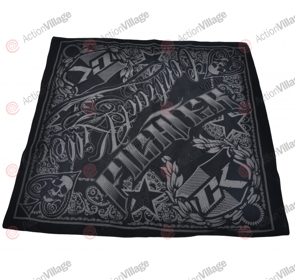 Contract Killer Fighter Bandana - Black