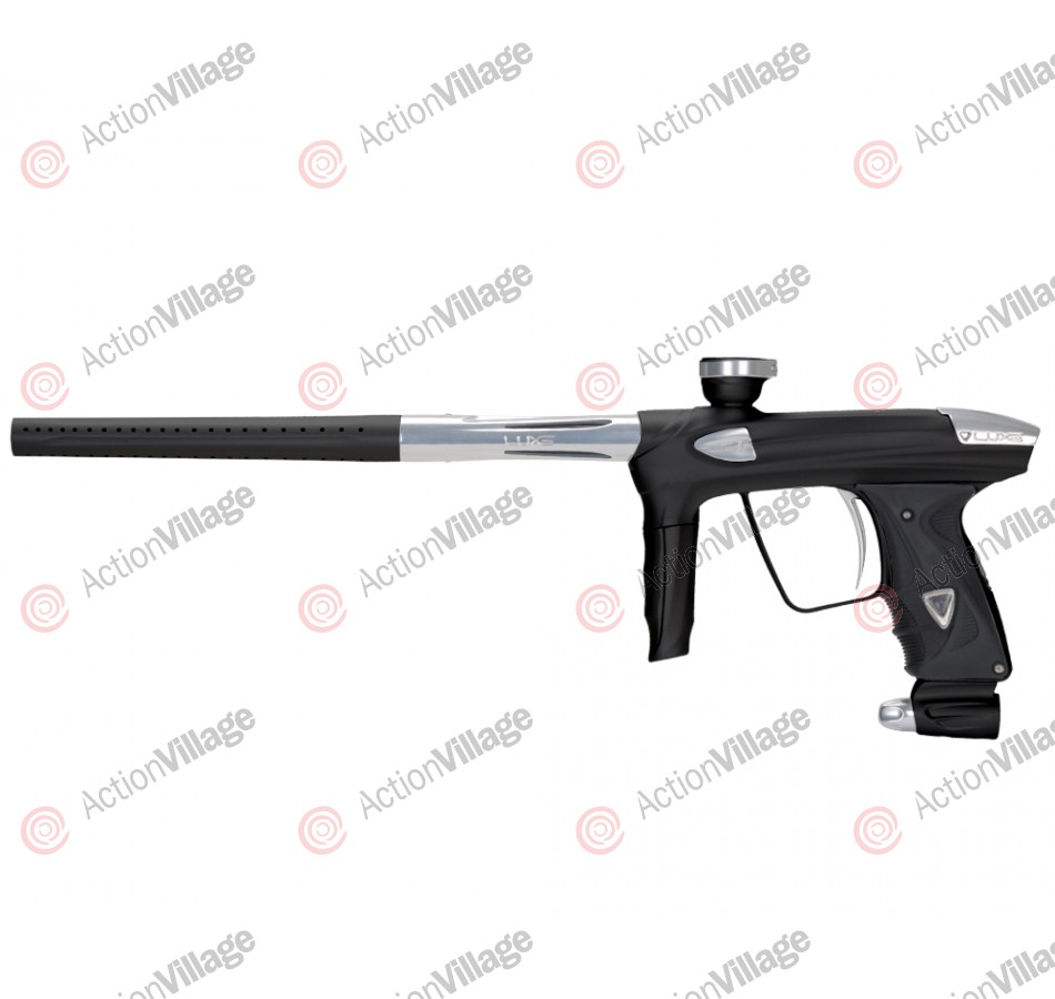 DLX Luxe 2.0 Paintball Gun - Dust Black/Clear