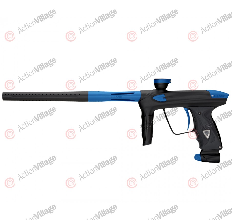 DLX Luxe 2.0 Paintball Gun - Dust Black/Dust Blue