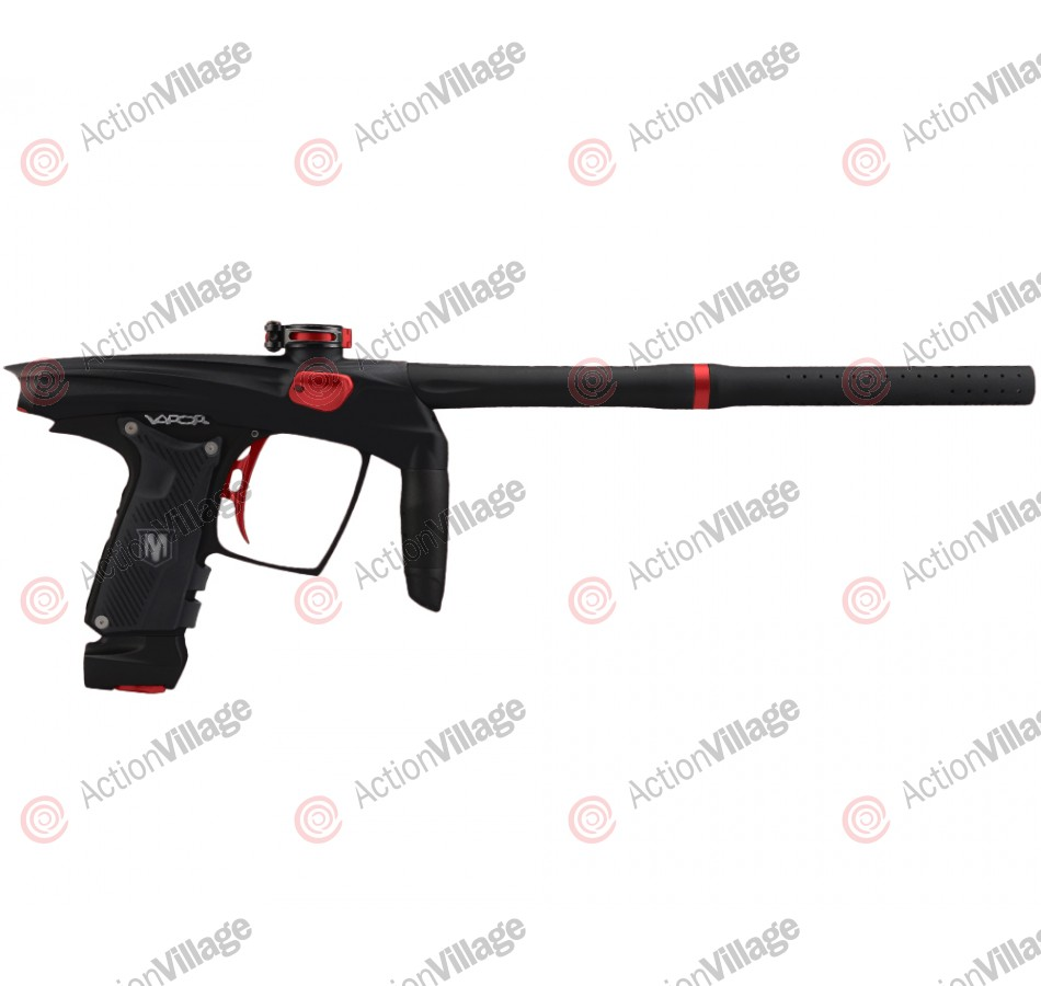 Machine Vapor Paintball Gun - Dust Black w/ Red Accents